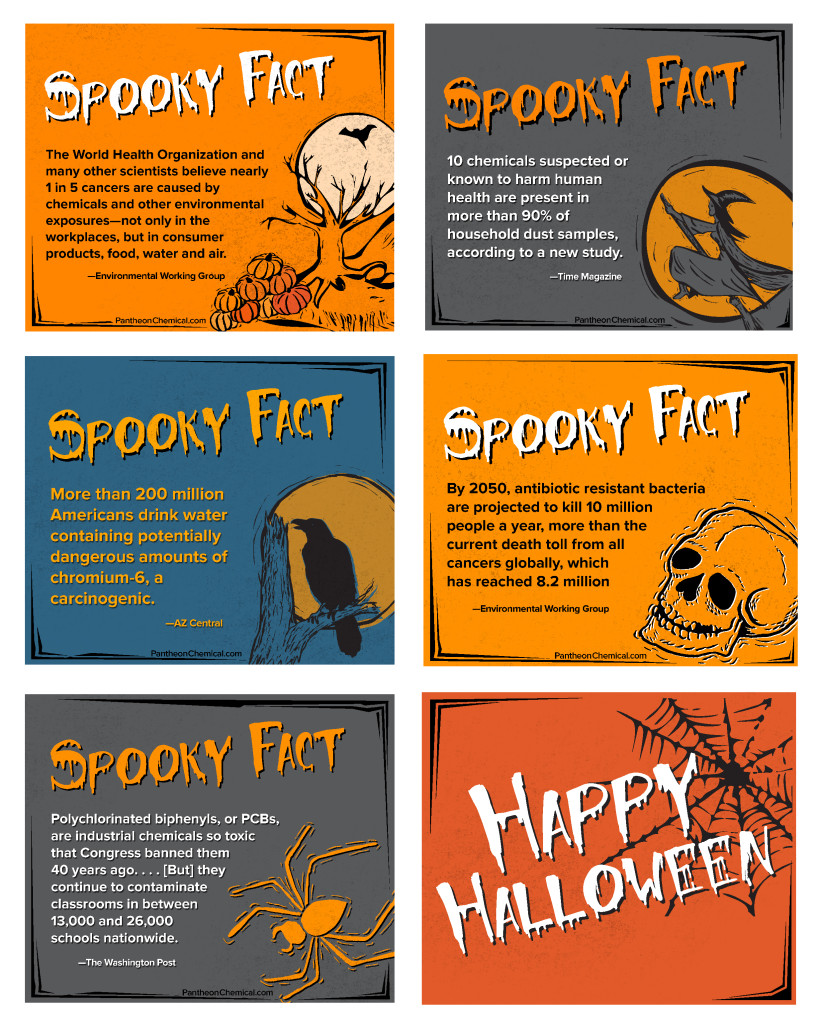 Halloween Spooky Facts About Toxic Chemicals - Pantheon Enterprises